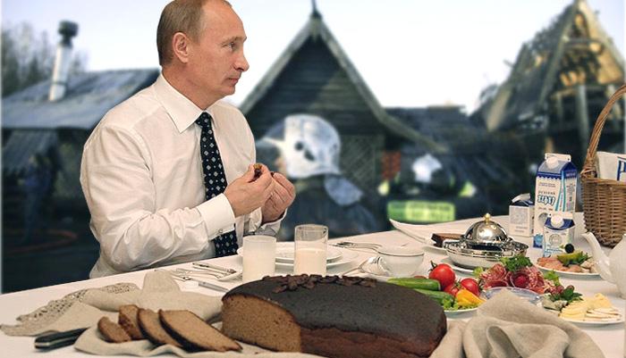 Что ест президент Путин, и его зарубежные коллеги